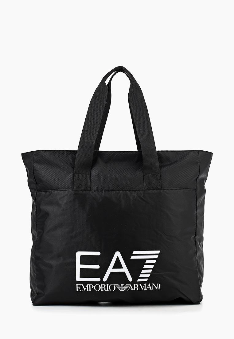 Купить Сумка спортивная EA7 - цвет: черный, Бангладеш, EA002BUJPG53