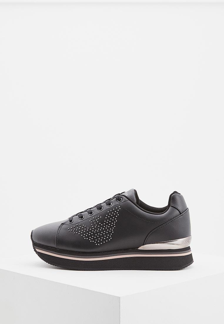 Купить Кроссовки Emporio Armani - цвет: черный, Вьетнам, EM598AWBLKZ7