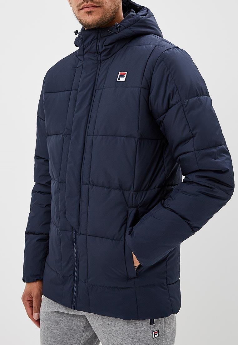 Купить Куртка утепленная Fila - цвет: синий, Китай, FI030EMCPQZ4