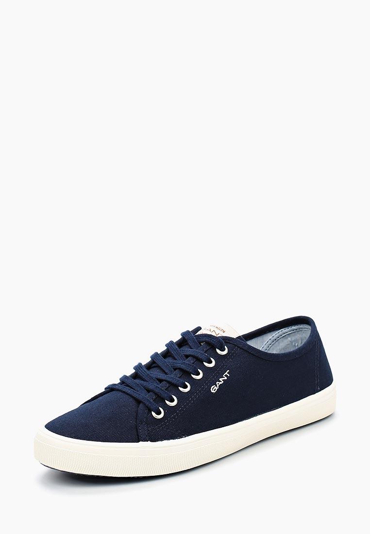 Купить Кеды Gant - цвет: синий, Вьетнам, GA121AWADLE3