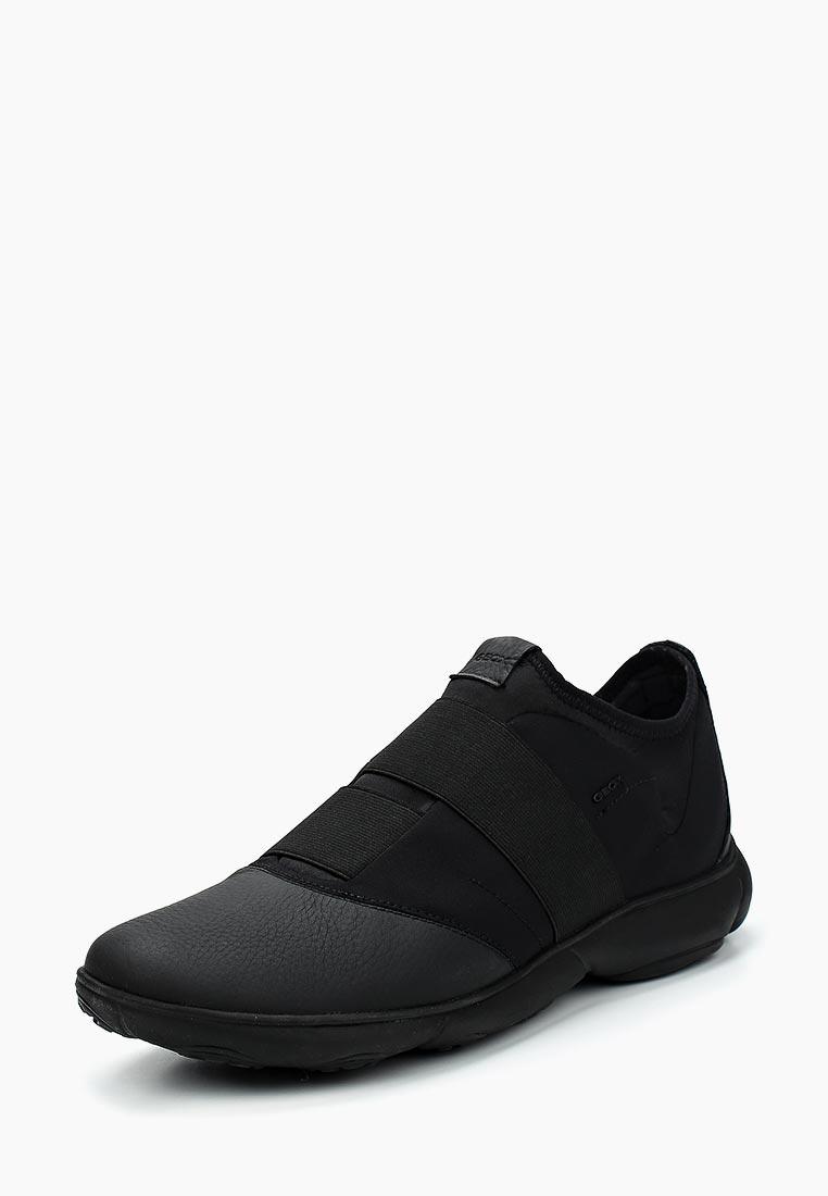 Кроссовки Geox - цвет: черный, Вьетнам, GE347AMADFO6  - купить со скидкой
