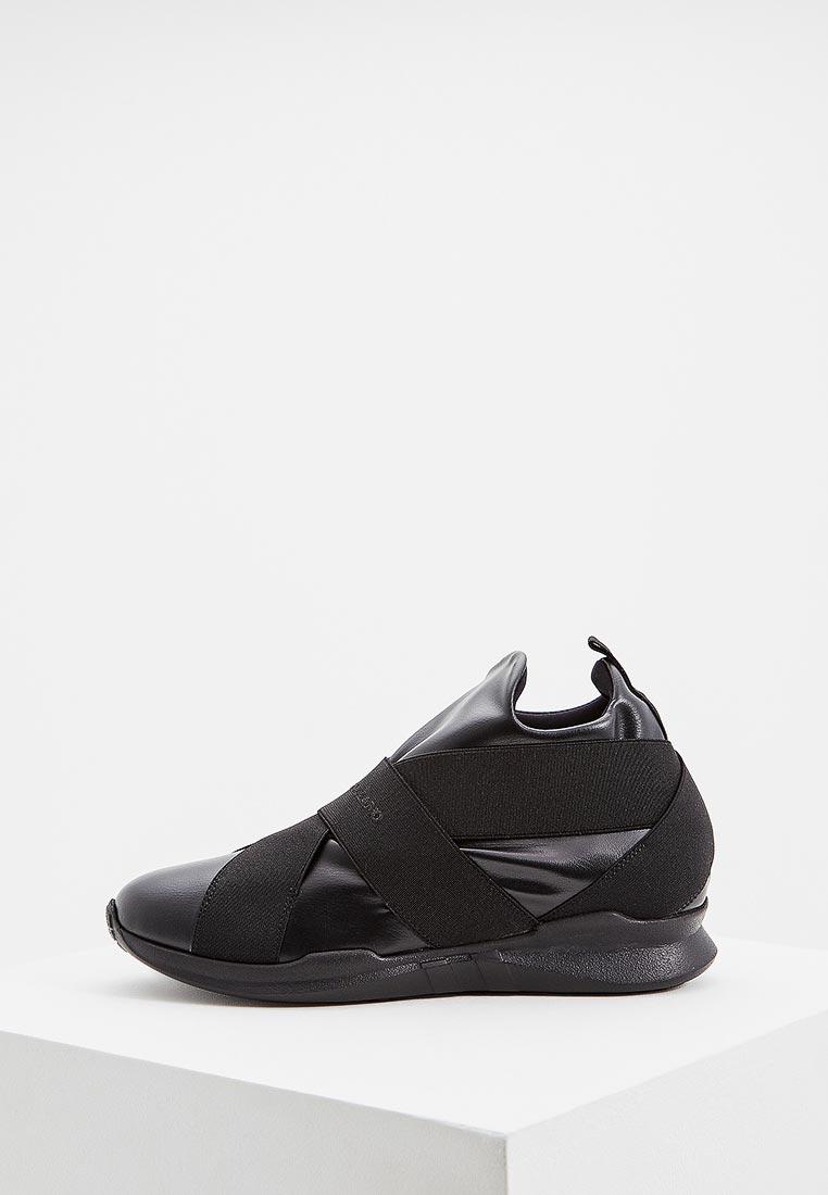 Купить Кроссовки John Galliano - цвет: черный, Италия, JO658AWCEKO9