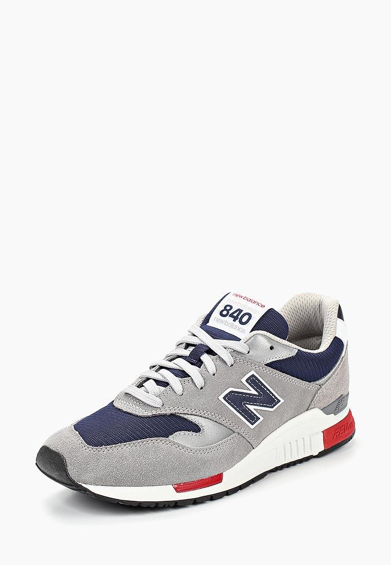 Кроссовки New Balance - цвет: серый, Китай, NE007AMBZPL5  - купить со скидкой