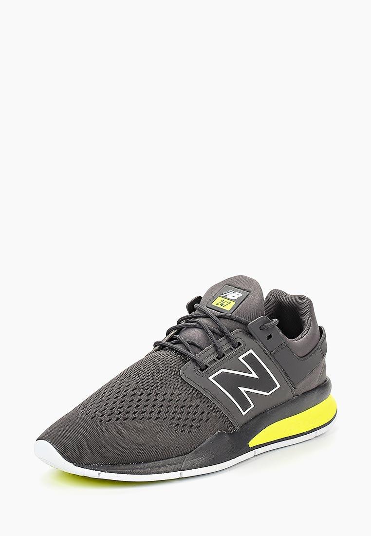 Кроссовки New Balance - цвет: серый, Индонезия, NE007AMBZPM6  - купить со скидкой
