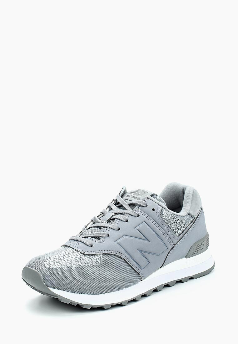 Кроссовки New Balance - цвет: серый, Вьетнам, NE007AWABGU3  - купить со скидкой