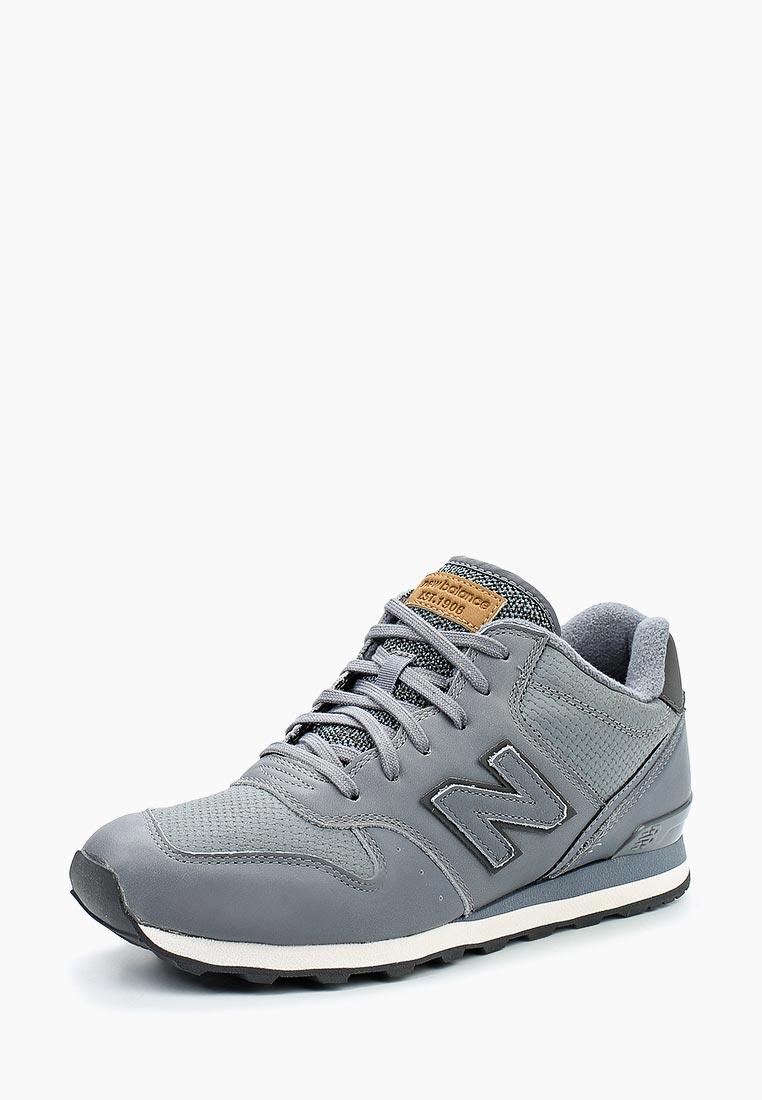 Кроссовки New Balance - цвет: серый, Китай, NE007AWXIR91  - купить со скидкой