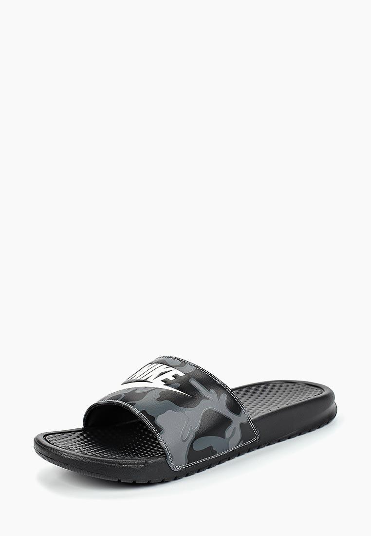 Купить Сланцы Nike - цвет: черный, Индонезия, NI464AMBWQK8