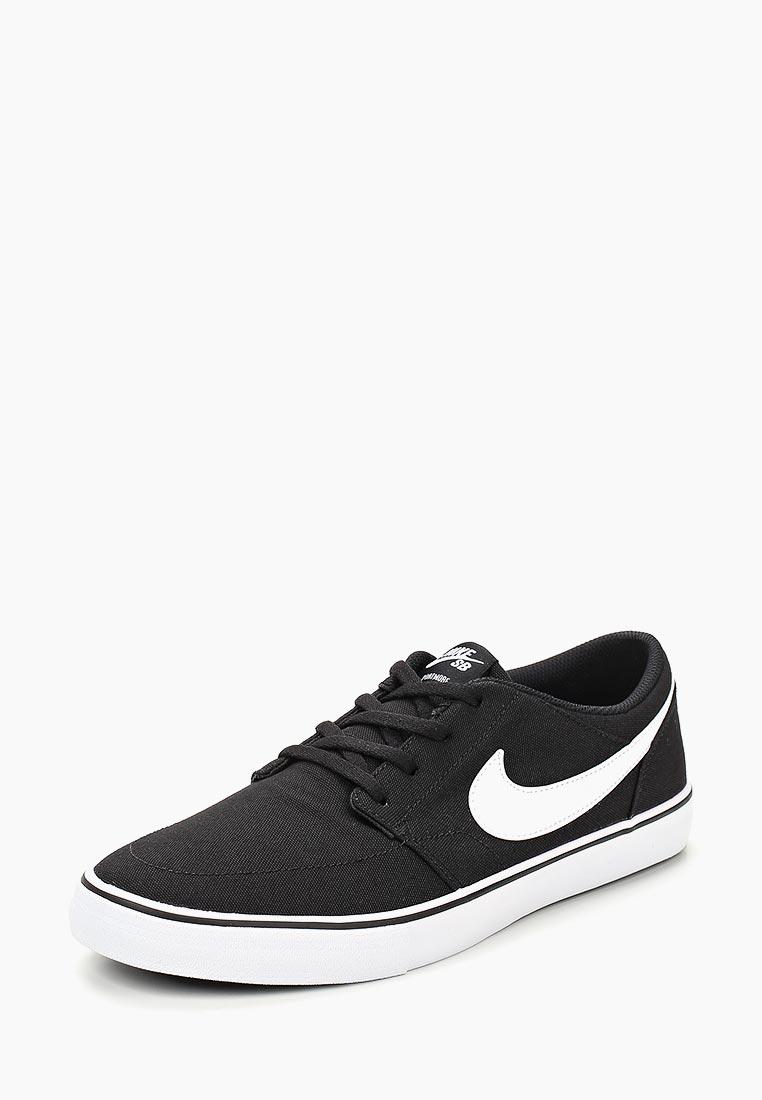Кеды Nike - цвет: черный, Индонезия, NI464AMCMHK3  - купить со скидкой