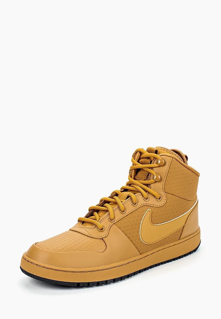 Купить Кеды Nike - цвет: коричневый, Индия, NI464AMCMIB2