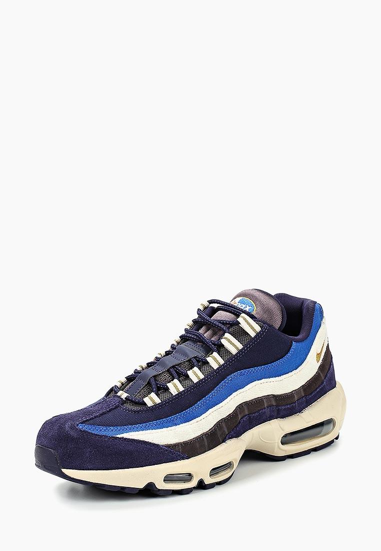 Кроссовки Nike - цвет: синий, Индонезия, NI464AMCTAE7  - купить со скидкой