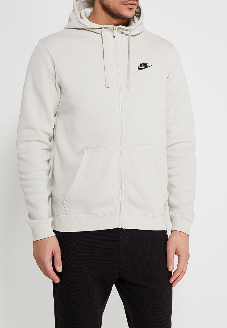 Толстовка Nike - цвет: бежевый, Пакистан, NI464EMAAAT3  - купить со скидкой