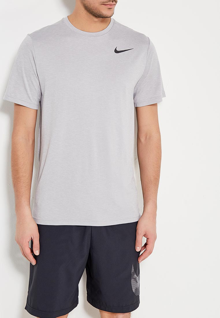 Купить Футболка спортивная Nike - цвет: серый, Шри-Ланка, NI464EMAABQ4