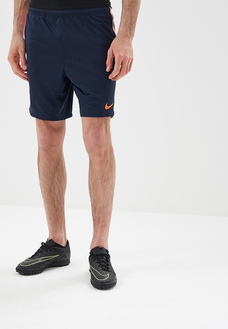 Шорты спортивные Nike - цвет: синий, Индонезия, NI464EMAACZ7  - купить со скидкой