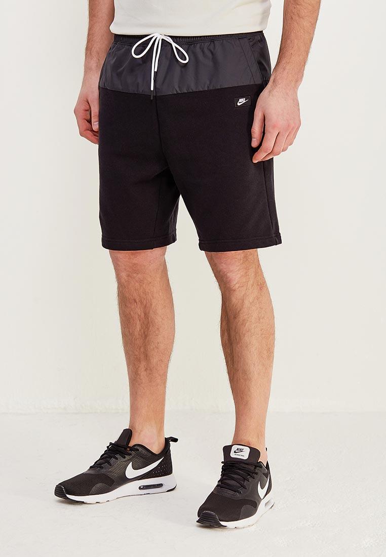 Купить Шорты спортивные Nike - цвет: черный, Камбоджа, NI464EMAADH7