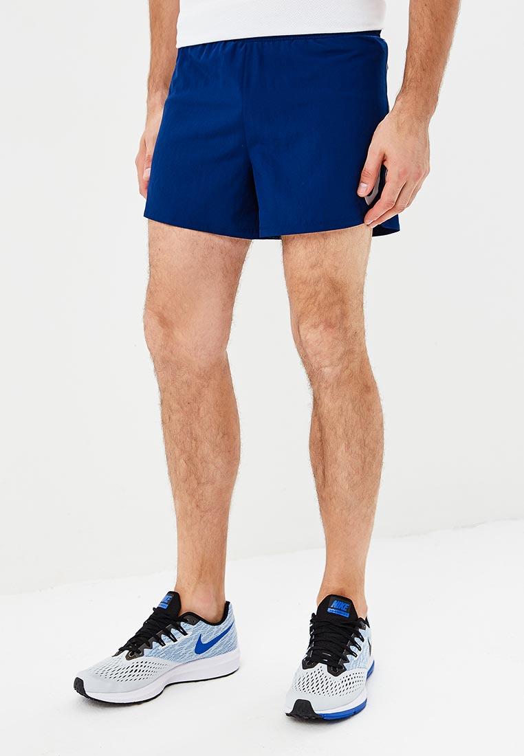 Шорты спортивные Nike - цвет: синий, Вьетнам, NI464EMBWHF5  - купить со скидкой