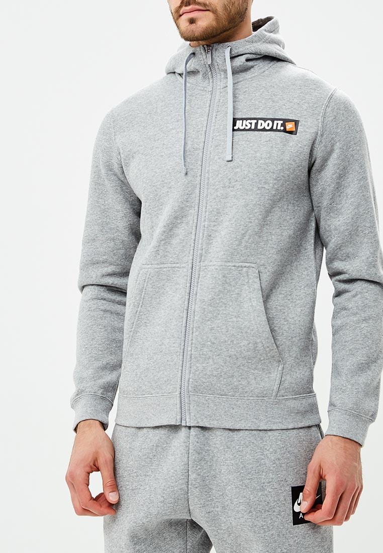 Купить Толстовка Nike - цвет: серый, Камбоджа, NI464EMBWIC3
