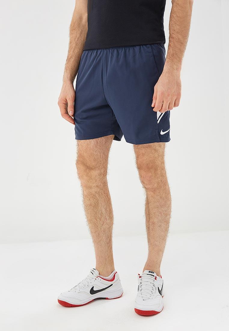 Купить Шорты спортивные Nike - цвет: синий, Вьетнам, NI464EMCMJP2