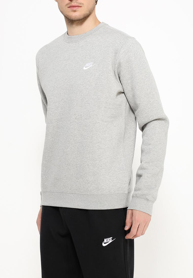 Купить Свитшот Nike - цвет: серый, Пакистан, NI464EMJFP08