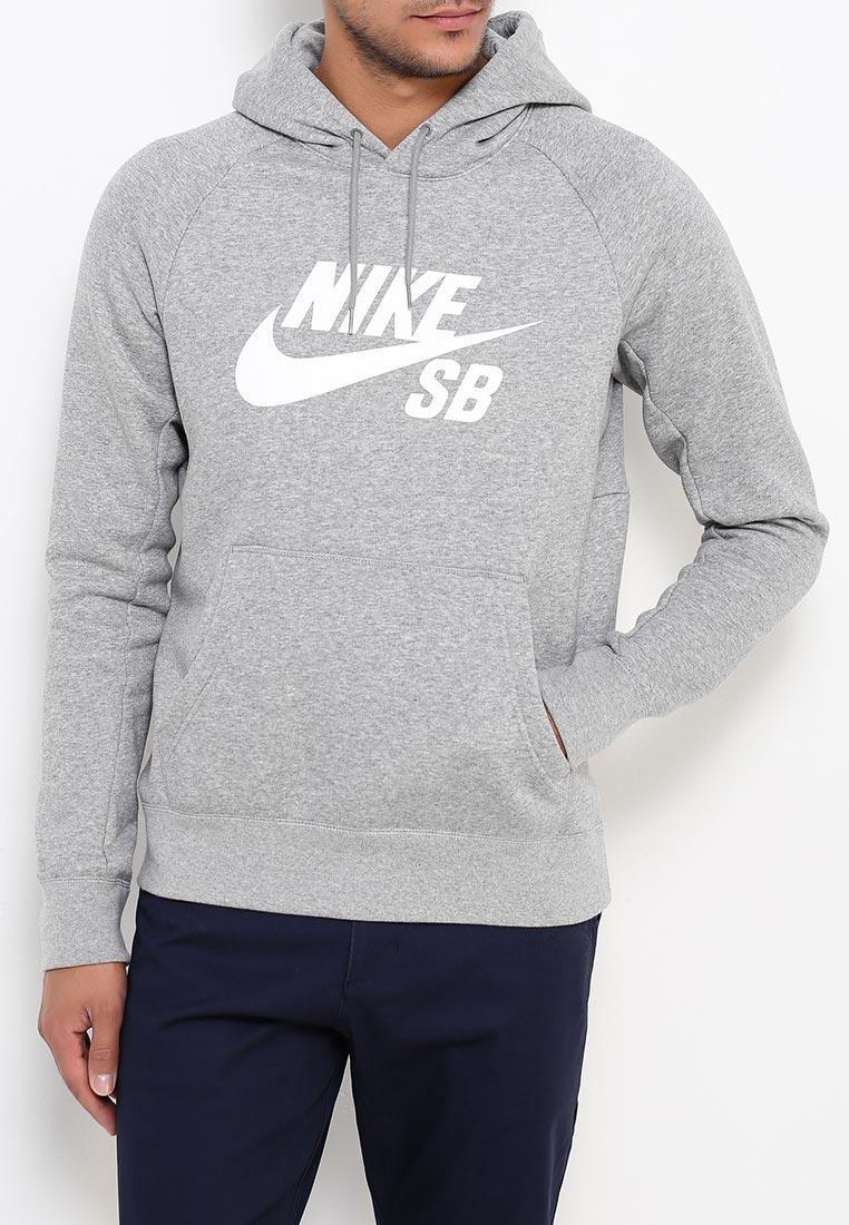Купить Худи Nike - цвет: серый, Малайзия, NI464EMRYS65
