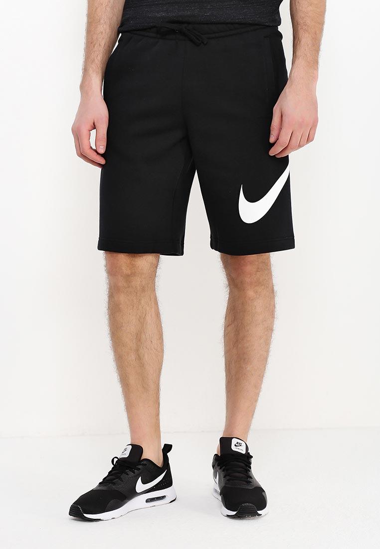 Купить Шорты спортивные Nike - цвет: черный, Камбоджа, NI464EMRYW09