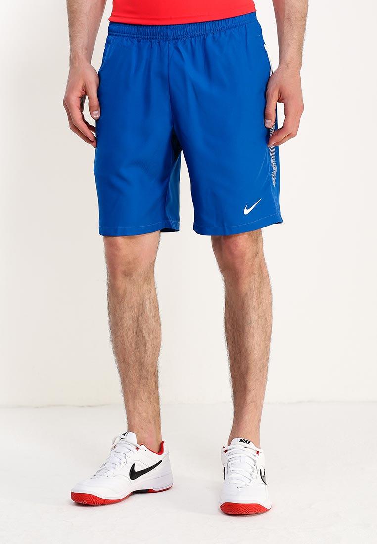 Шорты спортивные Nike - цвет: синий, Индонезия, NI464EMUGS58  - купить со скидкой
