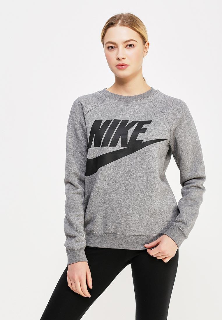 Купить Свитшот Nike - цвет: серый, Китай, NI464EWAAGH6