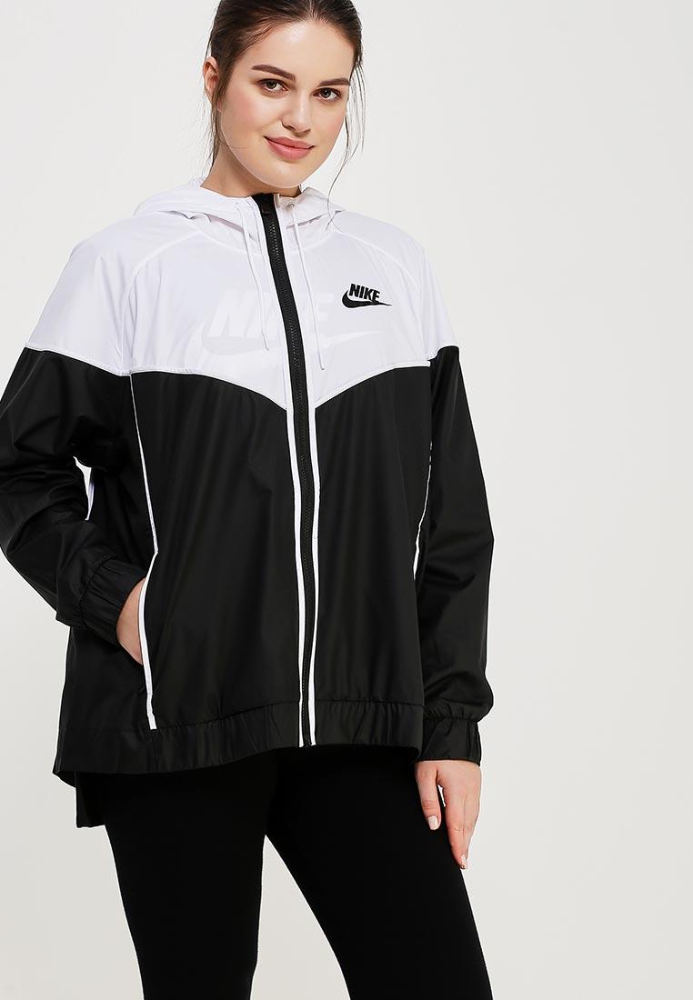 Ветровка Nike - цвет: черный, Вьетнам, NI464EWAAGN3  - купить со скидкой