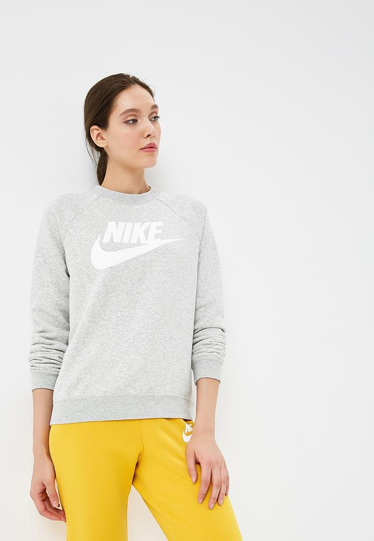 Купить Свитшот Nike - цвет: серый, Китай, NI464EWBWJP4