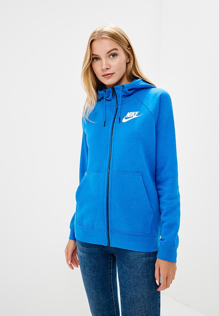 Купить Толстовка Nike - цвет: синий, Камбоджа, NI464EWBWJQ3