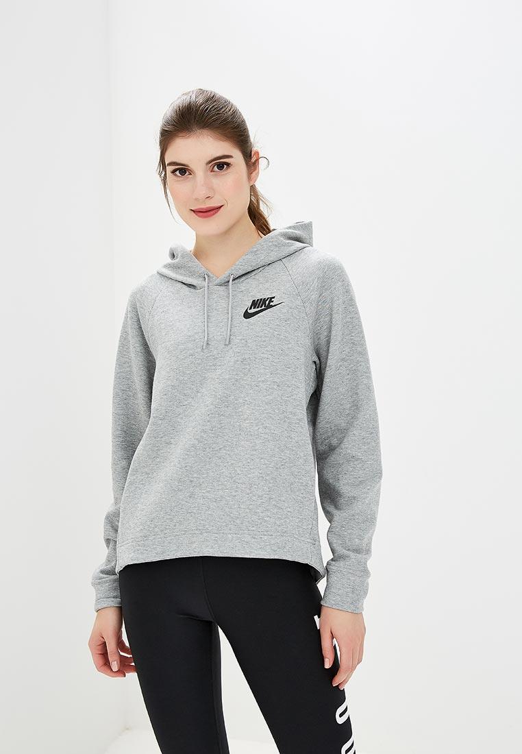 Худи Nike - цвет: серый, Малайзия, NI464EWCMLZ1  - купить со скидкой