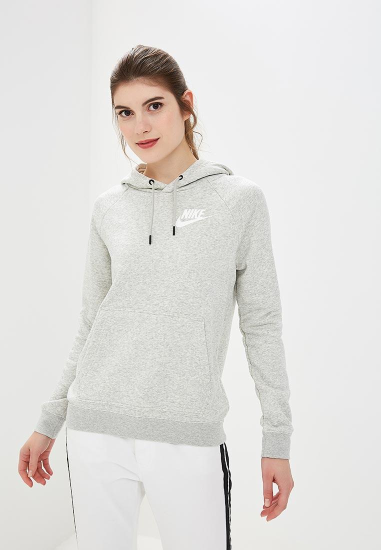 Худи Nike - цвет: серый, Камбоджа, NI464EWCMLZ5  - купить со скидкой