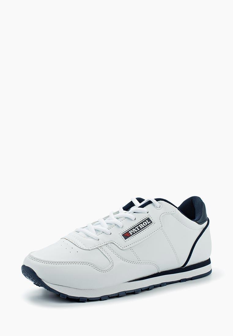 Кроссовки Patrol - цвет: белый, Китай, PA050AMAHCV8  - купить со скидкой