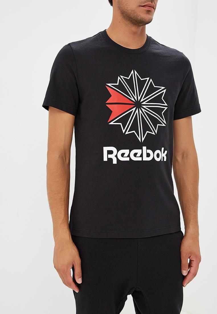 Купить Футболка Reebok Classics - цвет: черный, Вьетнам, RE005EMCDKP1