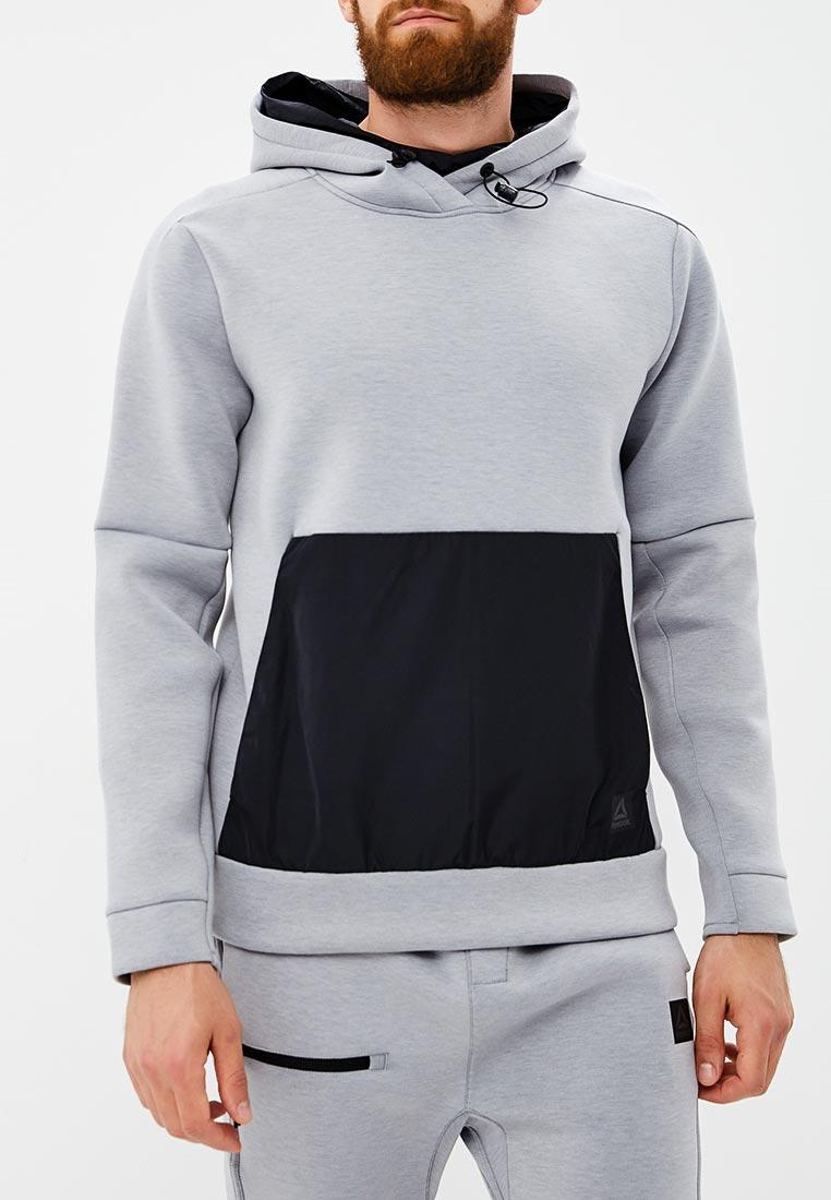 Купить Худи Reebok - цвет: серый, Камбоджа, RE160EMCDMP1