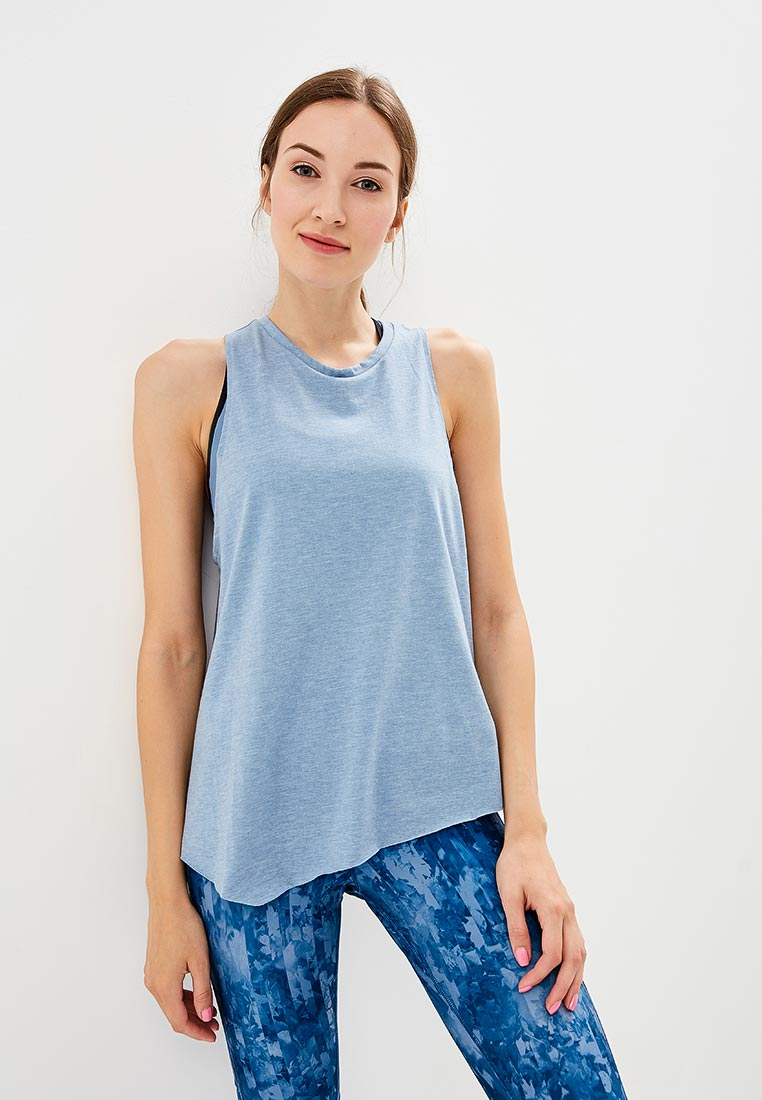 Купить Майка спортивная Reebok - цвет: синий, Вьетнам, RE160EWCDNT3