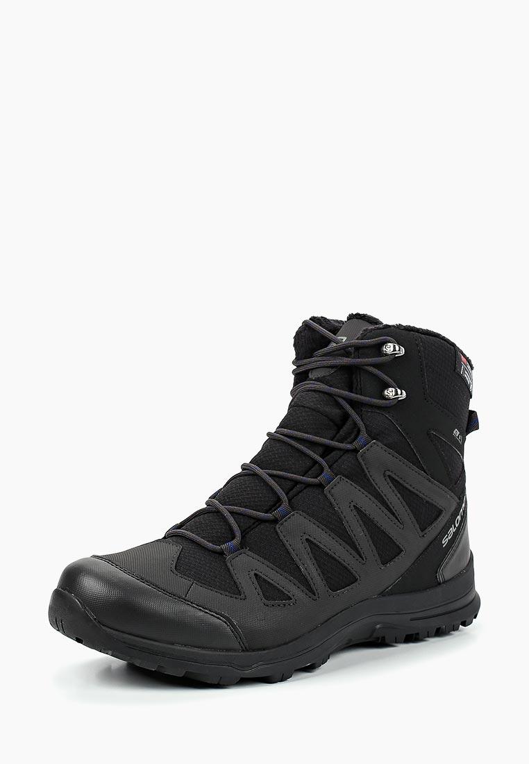 Купить Ботинки трекинговые Salomon - цвет: черный, Вьетнам, SA007AMDJQC2