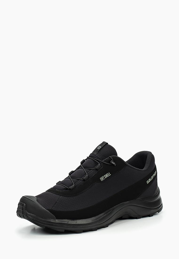 Ботинки трекинговые Salomon - цвет: черный, Вьетнам, SA007AMUHK39  - купить со скидкой