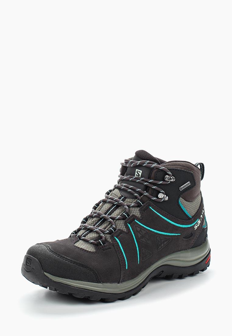 Купить Ботинки трекинговые Salomon - цвет: серый, Вьетнам, SA007AWUHK75