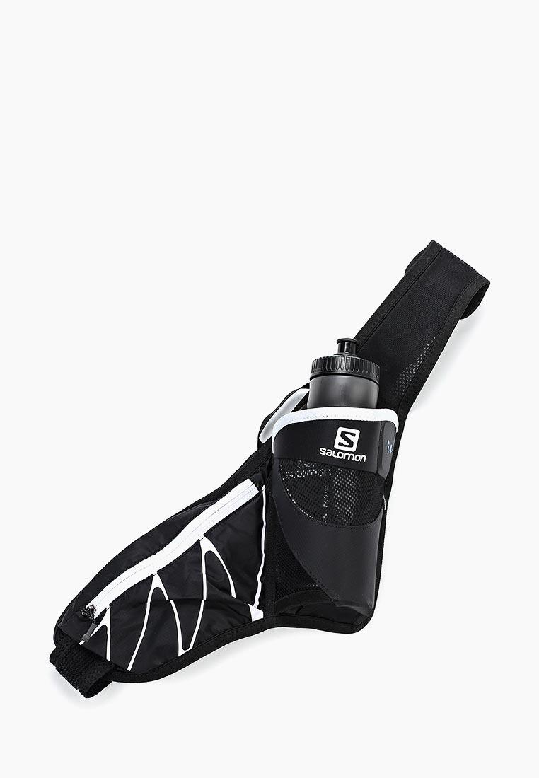 Пояс для бега Salomon - цвет: черный, Вьетнам, SA007DUPRO87  - купить со скидкой