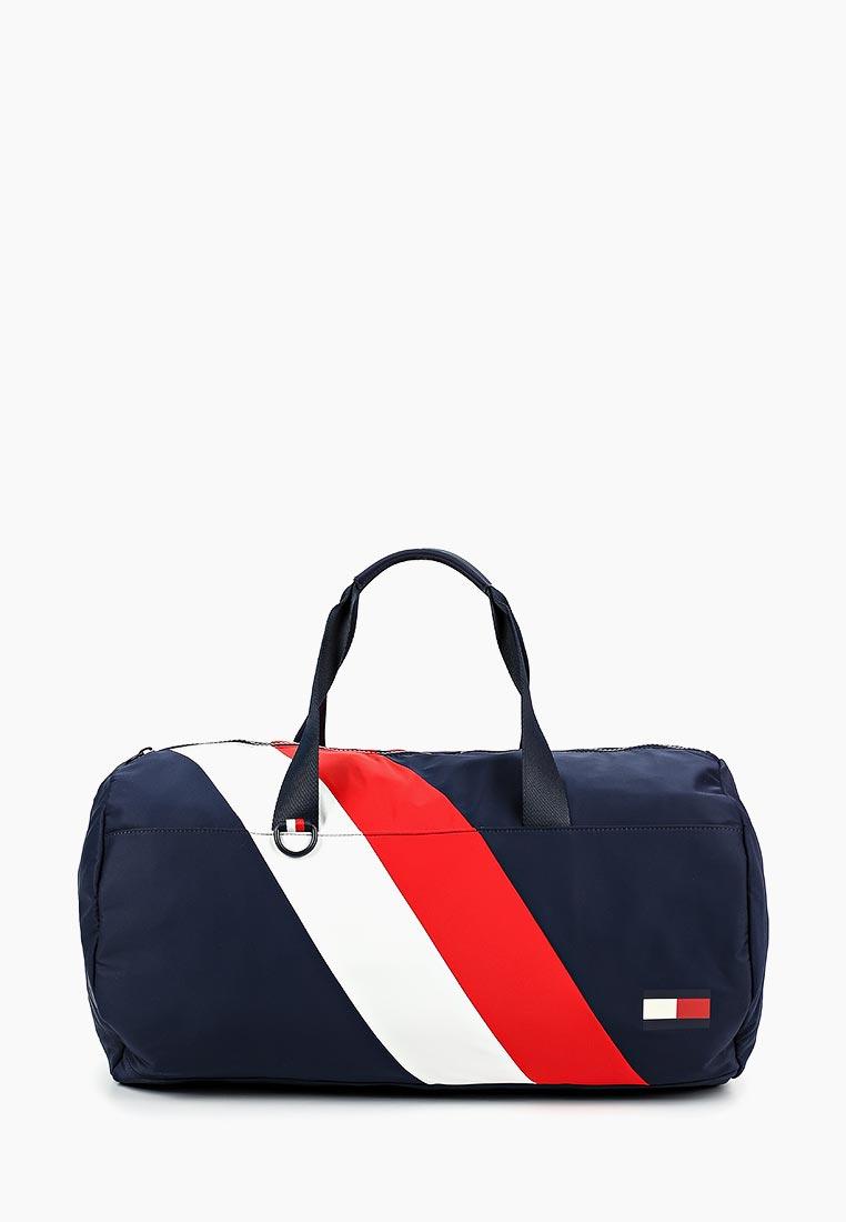 Купить Сумка спортивная Tommy Hilfiger - цвет: синий, Китай, TO263BMBWEE4