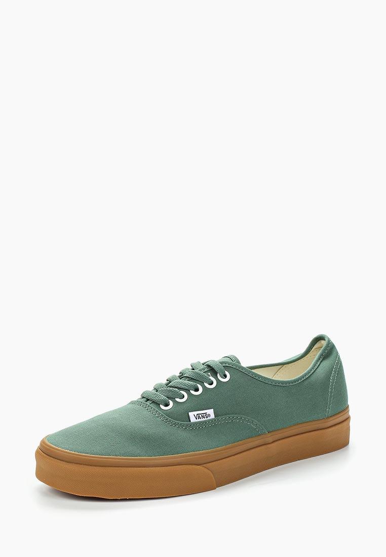 Купить Кеды Vans - цвет: зеленый, Швейцария, VA984AMAJYC2