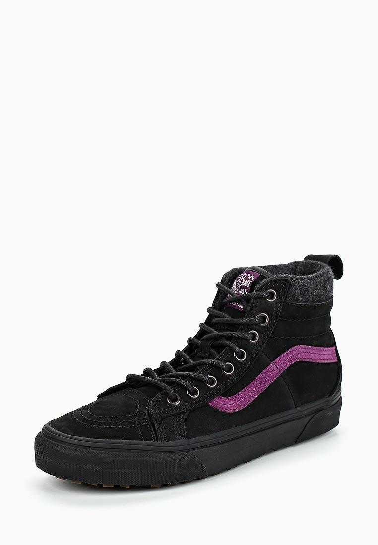 Купить Кеды Vans - цвет: черный, Вьетнам, VA984AUDHUB7