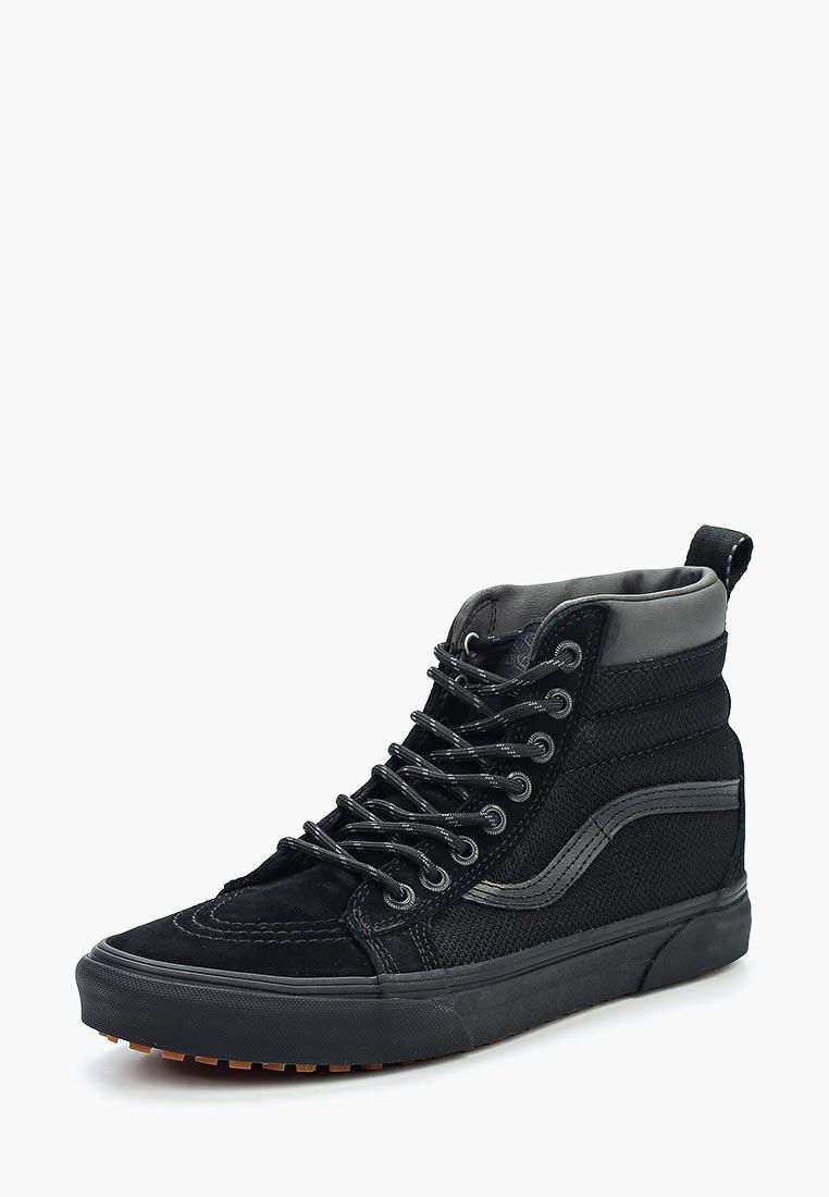 Кеды Vans - цвет: черный, Вьетнам, VA984AUVZS53  - купить со скидкой