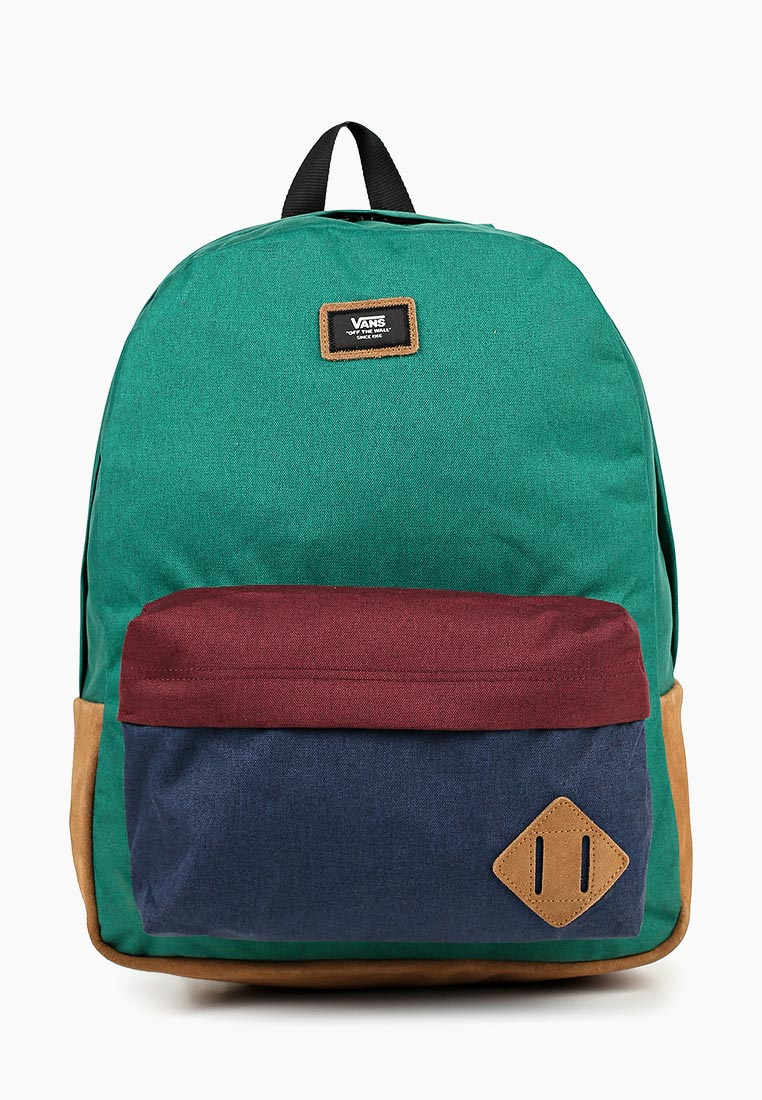 Купить Рюкзак Vans - цвет: зеленый, Индонезия, VA984BMCAHT4