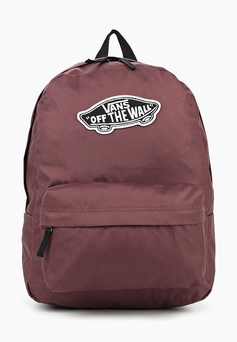 Купить Рюкзак Vans - цвет: бордовый, Камбоджа, VA984BWDGVW5