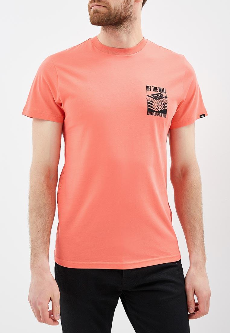 Купить Футболка Vans - цвет: коралловый, Грузия, VA984EMBMOL1