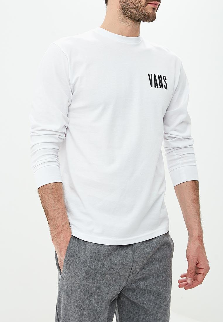 Купить Лонгслив Vans - цвет: белый, Грузия, VA984EMCAKB3