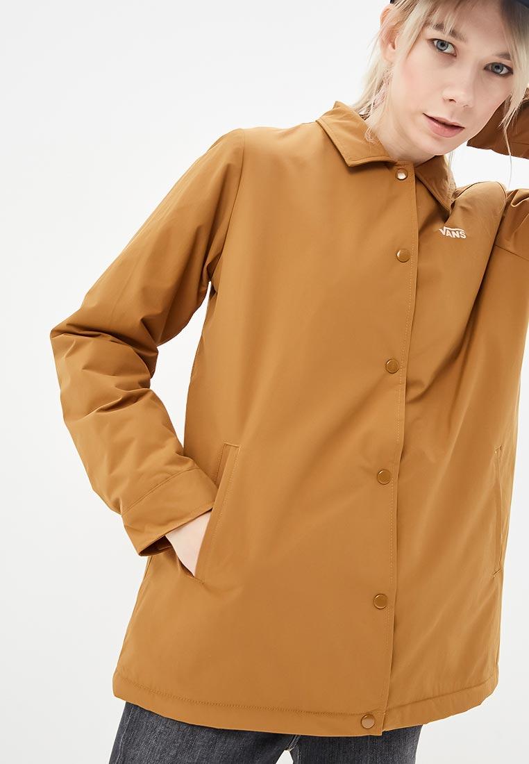 Купить Куртка утепленная Vans - цвет: коричневый, Китай, VA984EWCAKS7