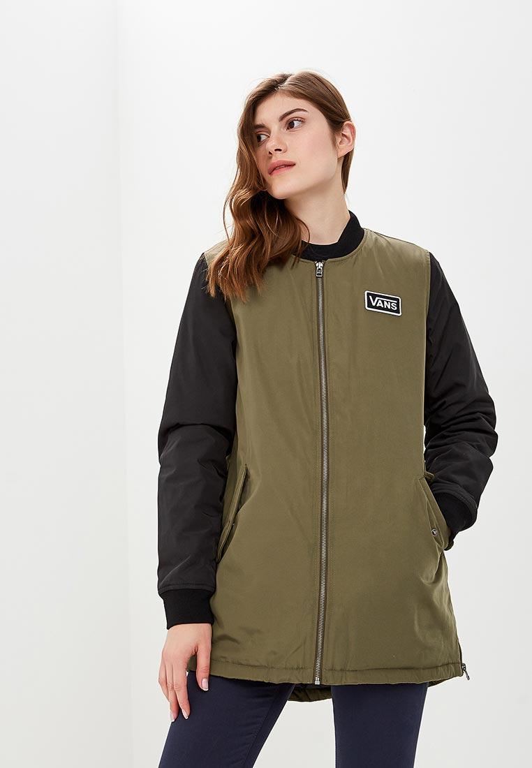 Купить Куртка утепленная Vans - цвет: хаки, Китай, VA984EWCAKS8
