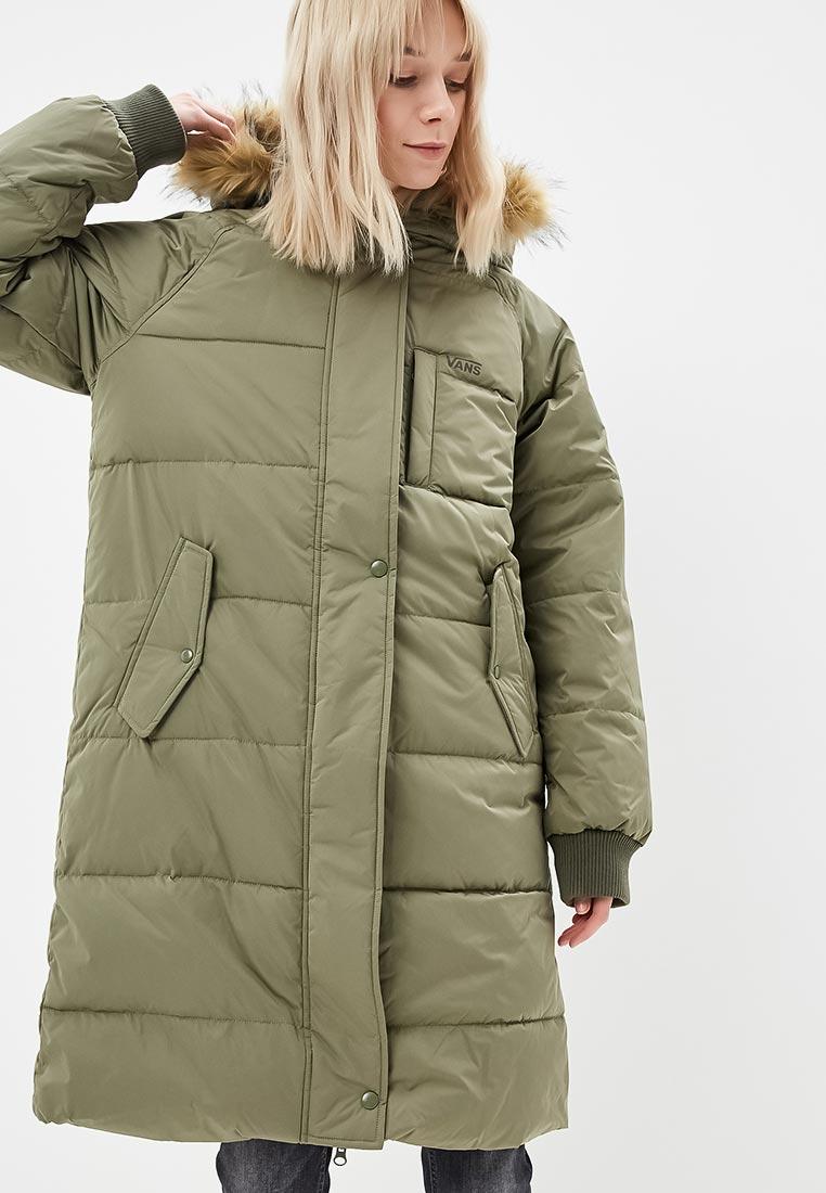 Купить Куртка утепленная Vans - цвет: хаки, Китай, VA984EWCAKT4